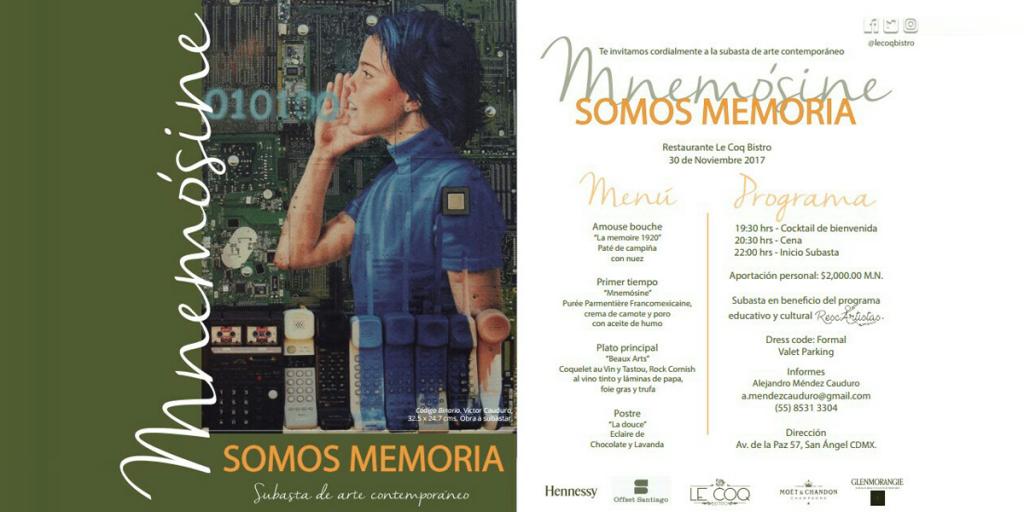 Subasta de arte contemporáneo en apoyo a las víctimas del 19S