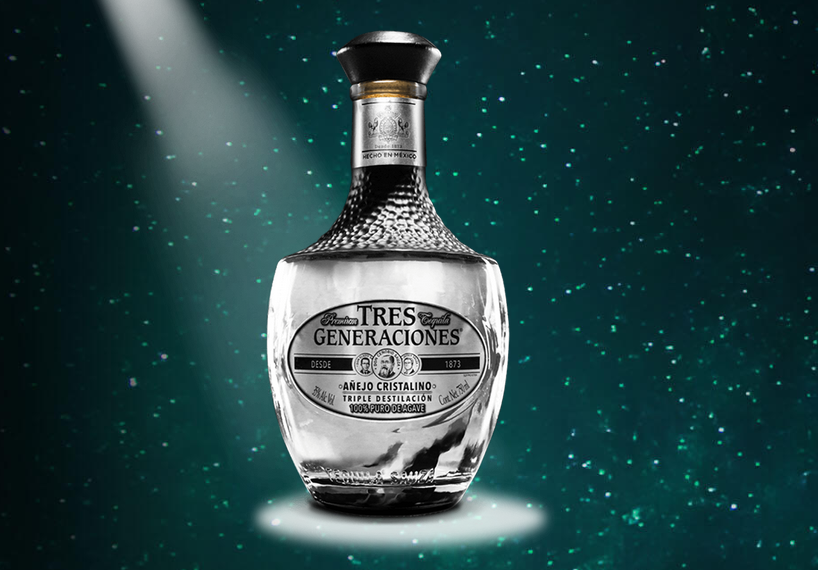 Añejo Cristalino, la joya de Tequila Tres Generaciones