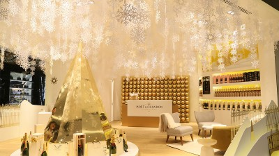Moët & Chandon abre en la CDMX su primer pop up store