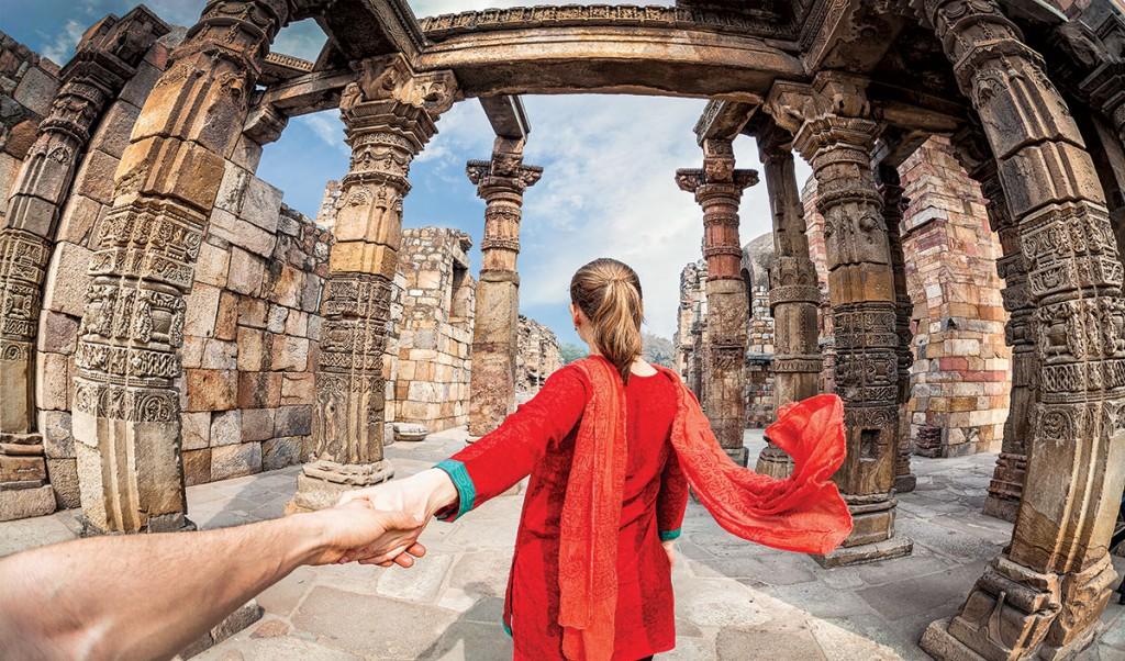 Nueva Delhi, la puerta mística