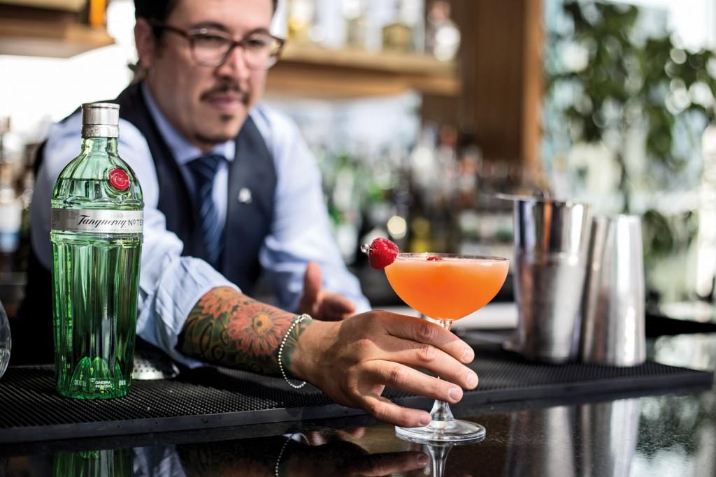 Regio Fizz, el trago de Richard Sandoval en Cocktail Week Monterrey