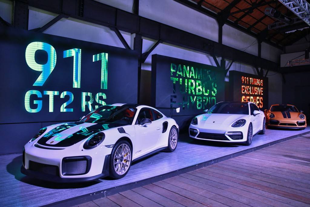 El poder de 2,000 caballos de Porsche llegó a México