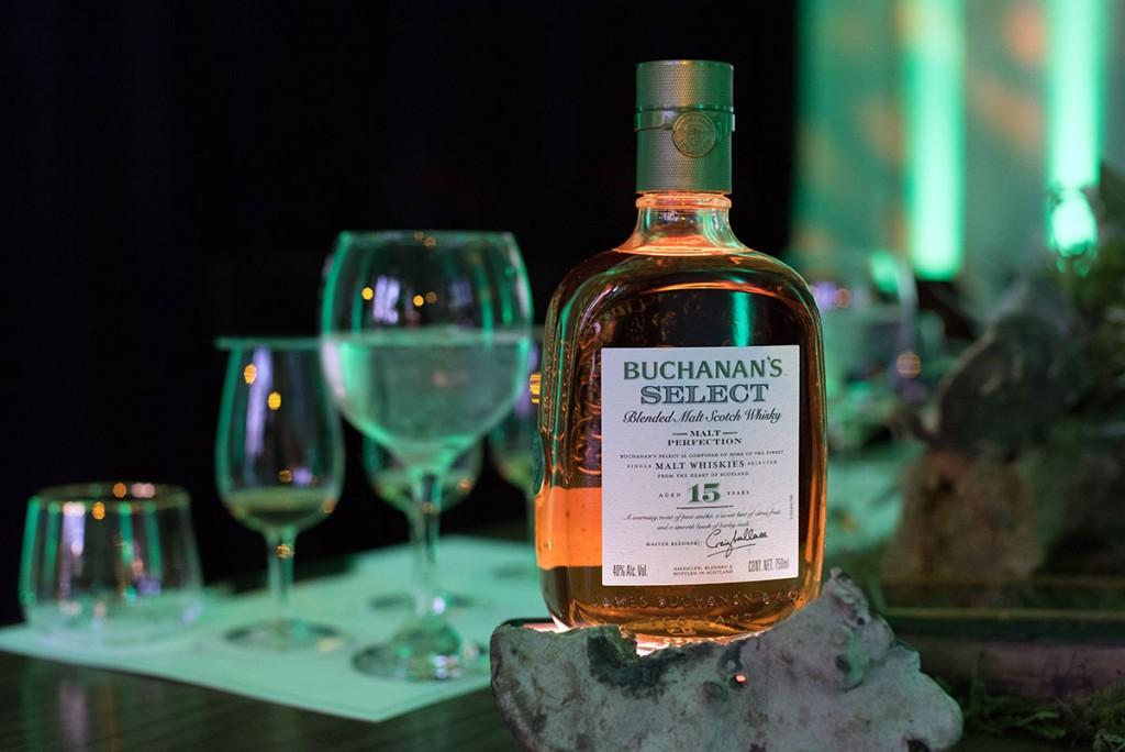 Presentan Buchanan's Select en México, el whisky de malta