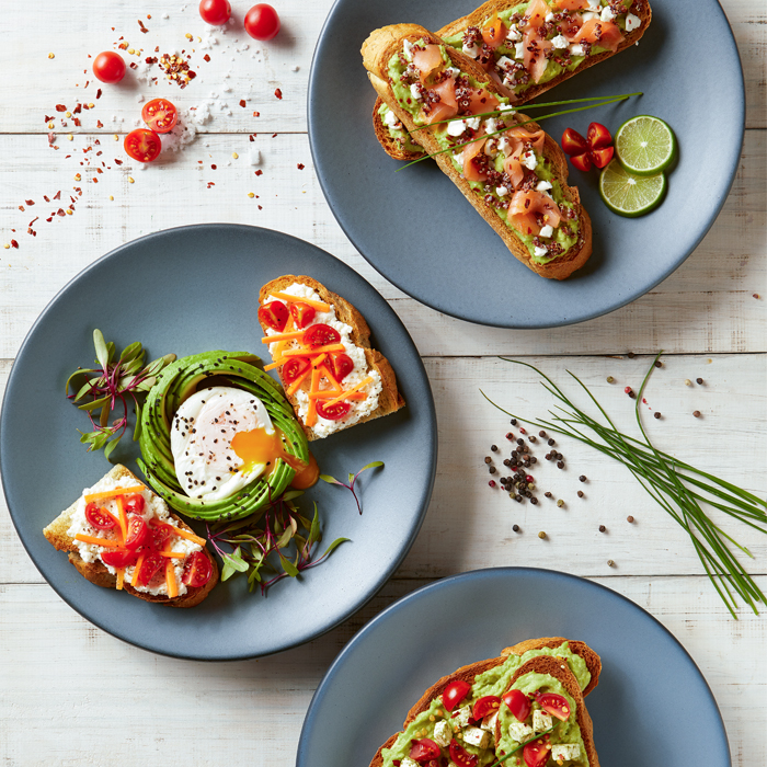 Ricotta Avocado Toast
