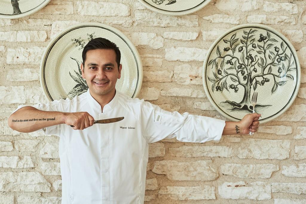 Entrevista con el Chef Miguel Gómez