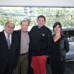 Oscar Lorenzo, Mauricio La Madrid, Olivier Bert y Alizee Antoine