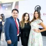 Arturo Velázquez, Mariana Ramírez y Vielka Valenzuela