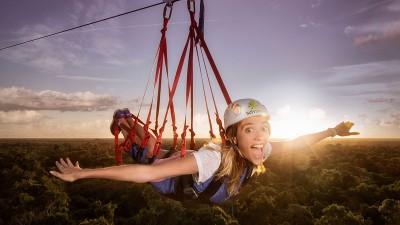 Selvatica, el parque de aventuras no. 1 en la Riviera Maya