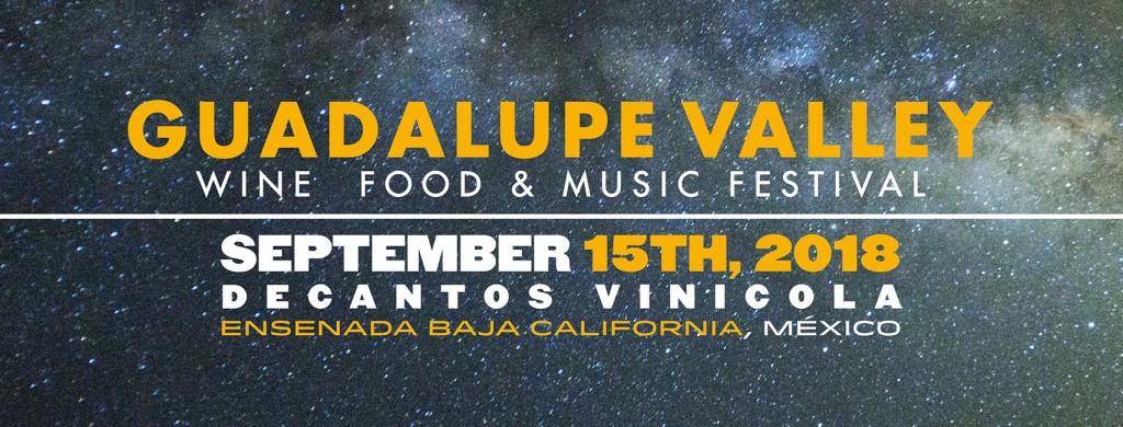 Todo listo para Guadalupe Valley 3ra edición