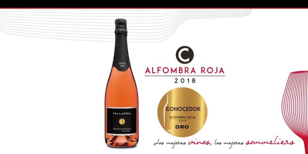 Espumante De Vino Verde Rosado Seco Via Latina