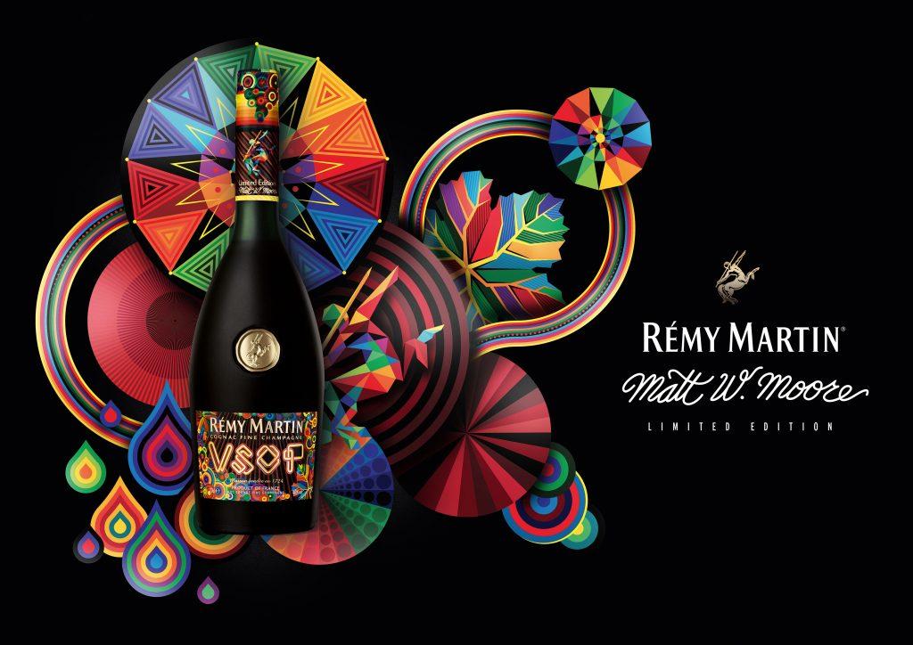 Rémy Martin VSOP presenta botella de edición limitada por Matt W. Moore