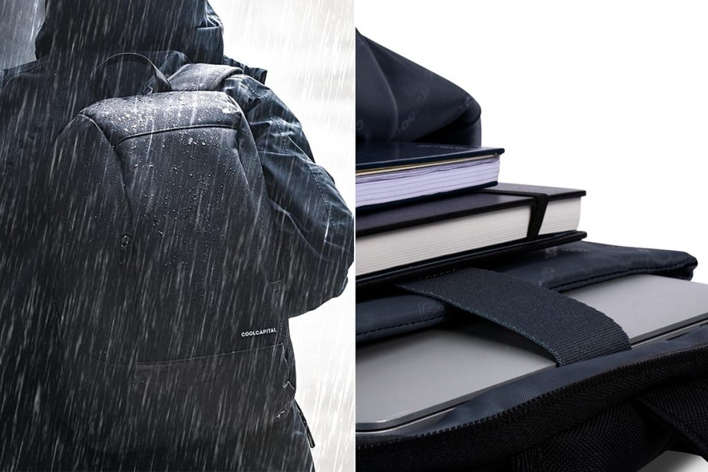 Vigo, la primera mochila impermeable de Cool Capital