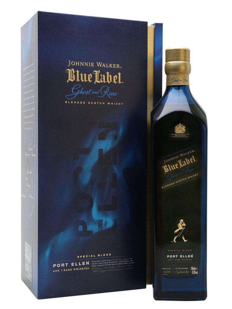Johnnie Walker presentó Blue Label Ghost & Rare Port Ellen
