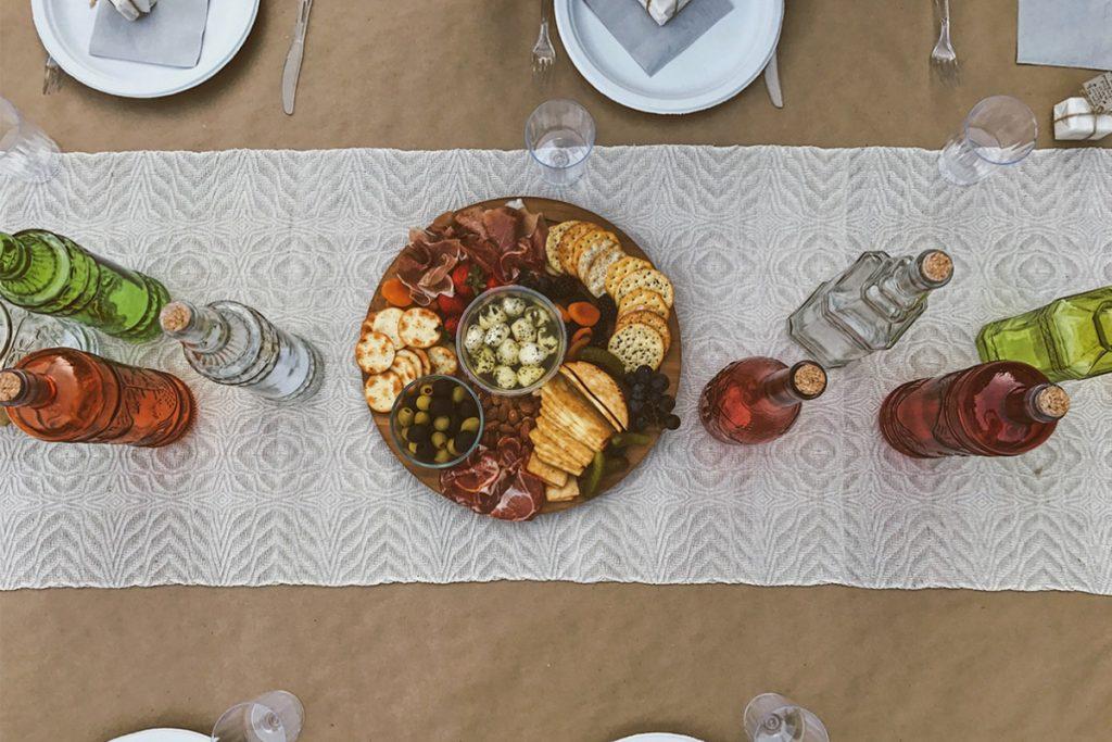 Comida mediterránea y los vinos del mundo