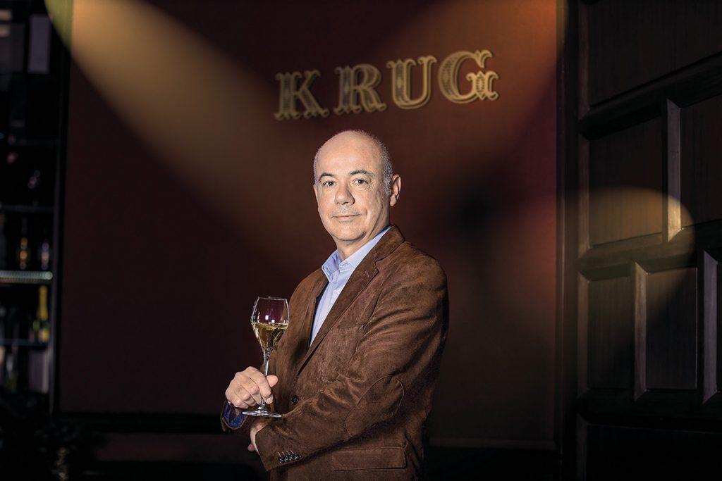 #ENTREVISTA Eric Lebel, la esencia del champagne es el placer