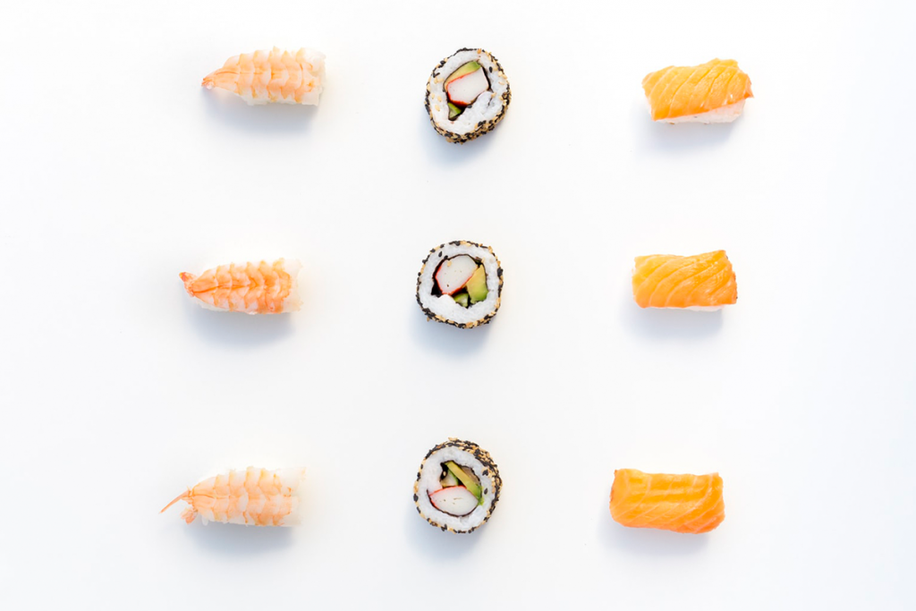 Los cinco mandamientos del sushi