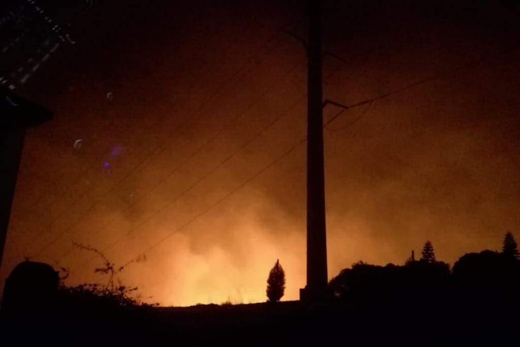 Peligra el Valle de Guadalupe por incendios en Baja California