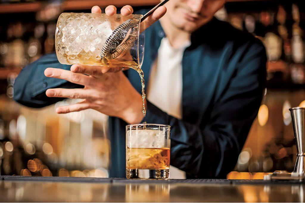 Coctelería con whisky,¿se vale?