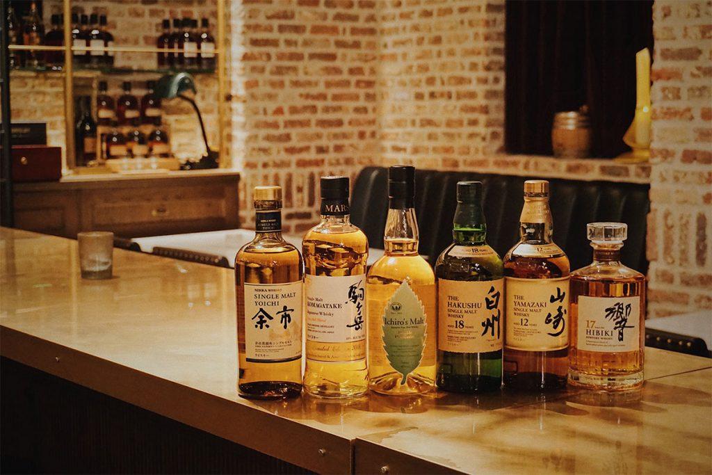 Whisky al estilo nipón