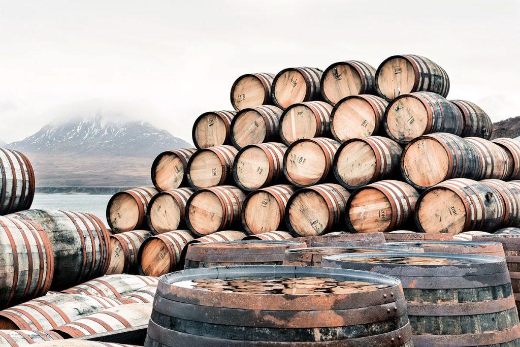 Whiskies con sabor a mar