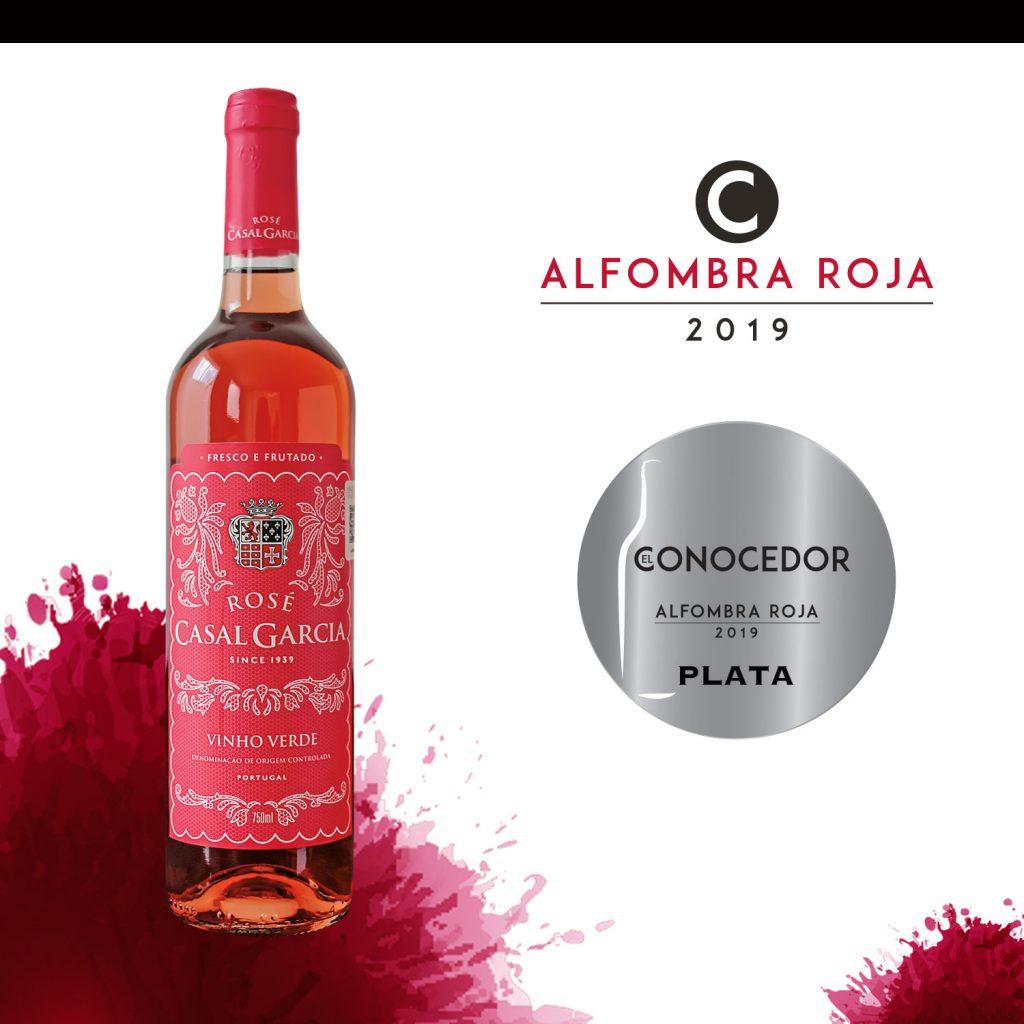 Vino Rosado Casal García Rosado Vinho Verde