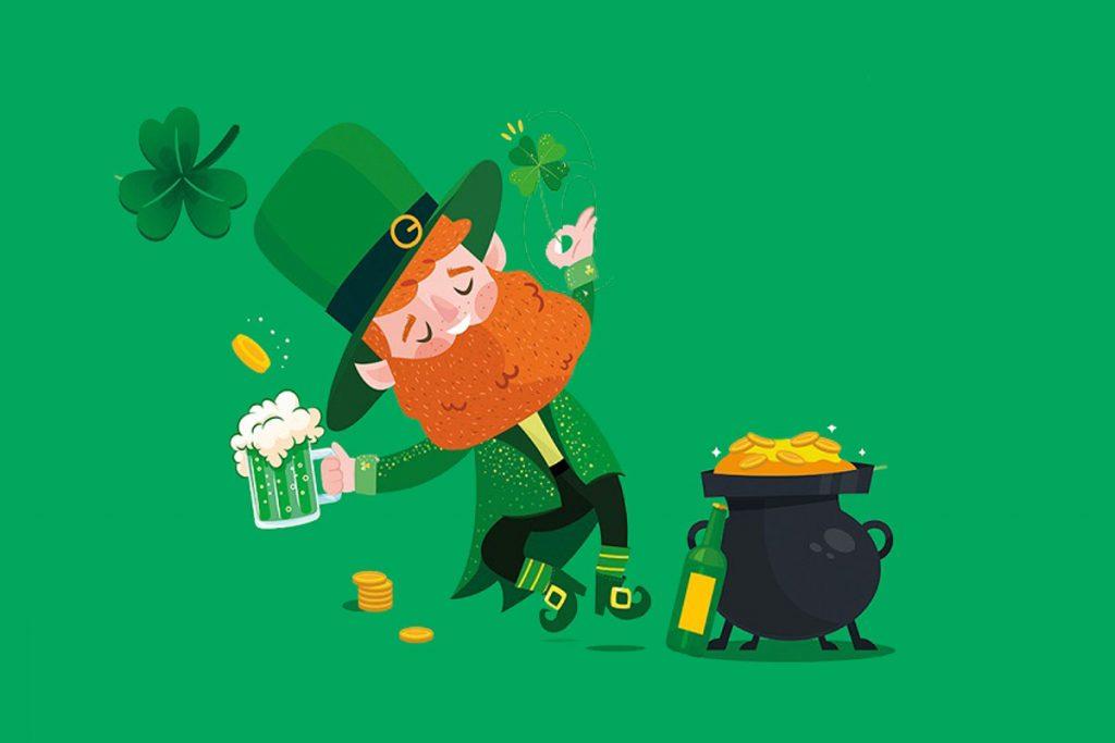 Celebra el St. Patrick's Day en Biergarten