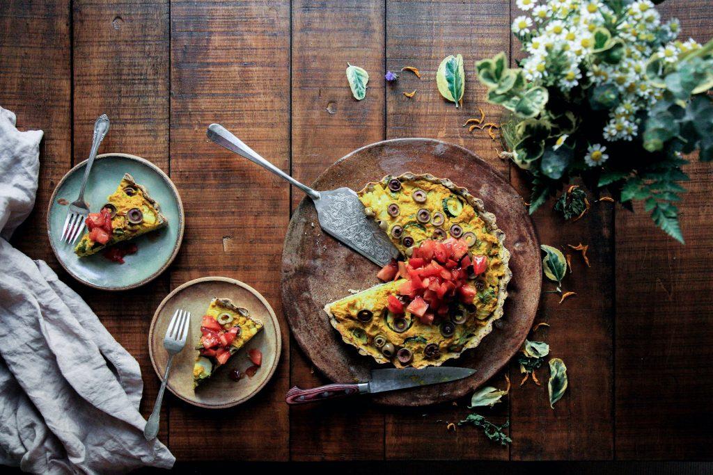 Este desayuno te hará tener un mejor día: quiche de vegetales de Taula 🥗