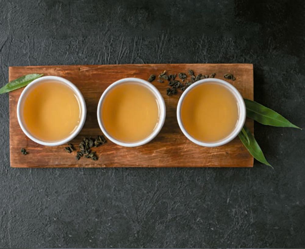 té verde, té blanco, té negro