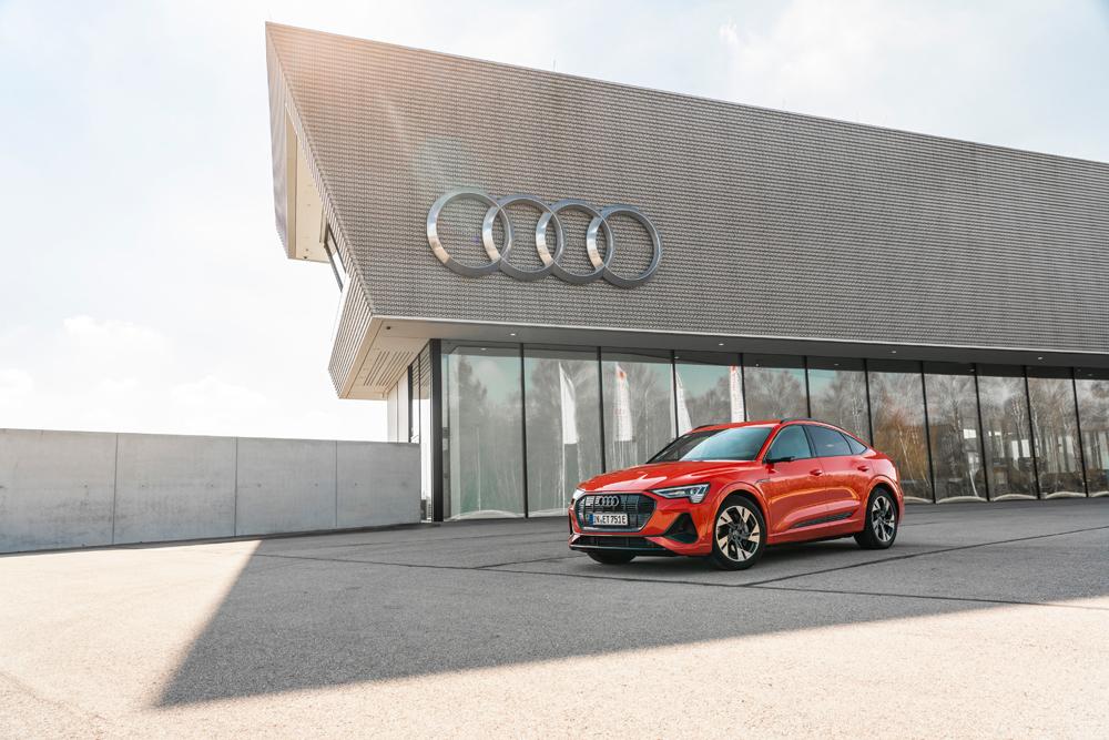 Audi e-tron se coloca como el líder mundial del mercado en su segmento.