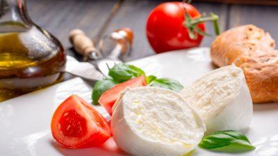 Mozzarella, la joya del centro de Italia