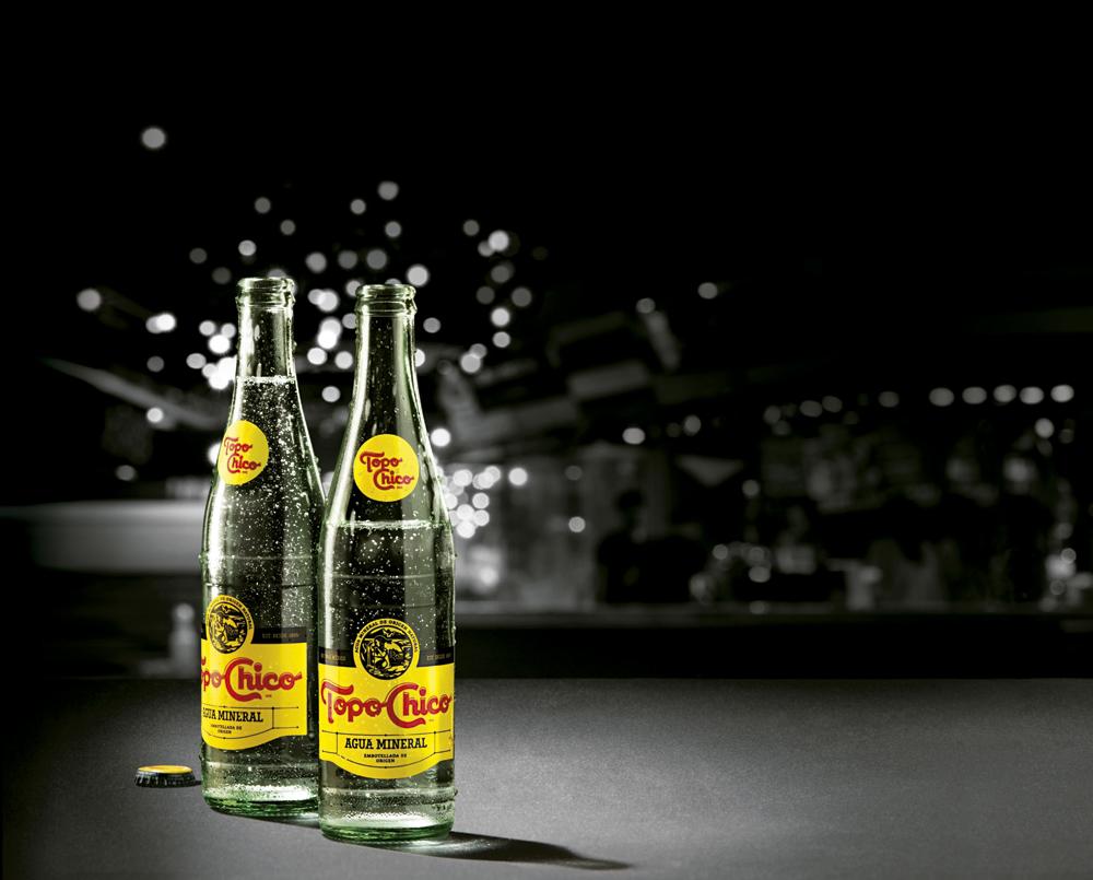 Coca-Cola prepara Topo Chico con alcohol