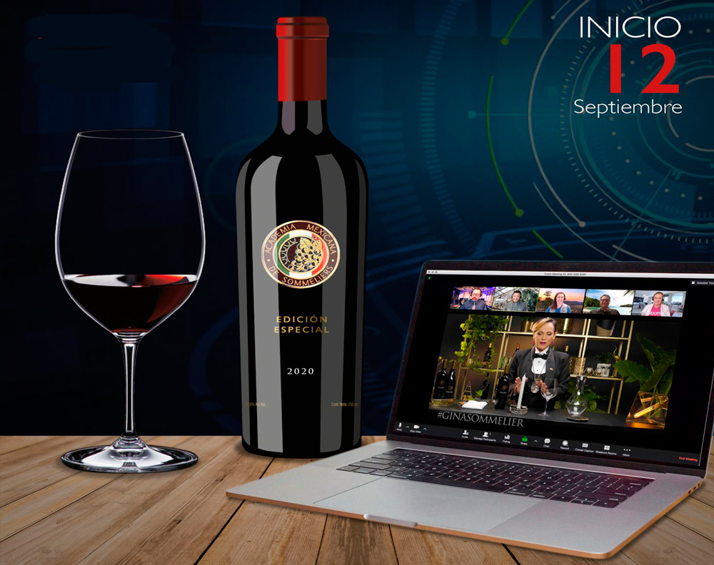 La Academia Mexicana de Sommeliers lanza su diplomado en vinos online