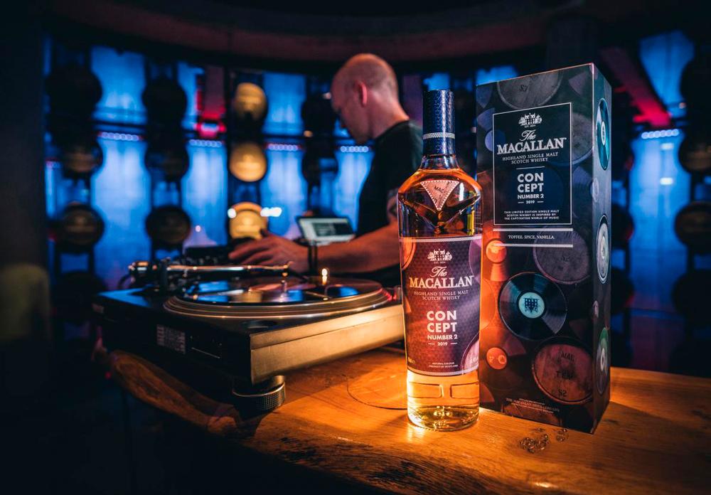 Concept Number 2, un whisky inspirado en la música house