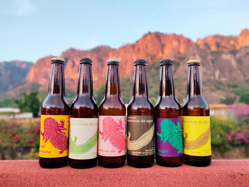 Cerveza Monstruo de Agua gana premio como mejor marca sostenible