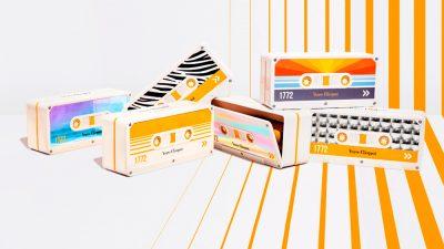 Clicquot Tape, un homenaje al cassette para la edición especial de Veuve Clicquot