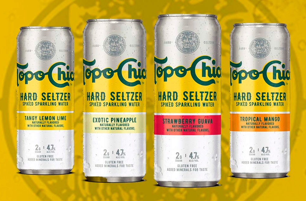 Topo Chico tendrá versión hard seltzer