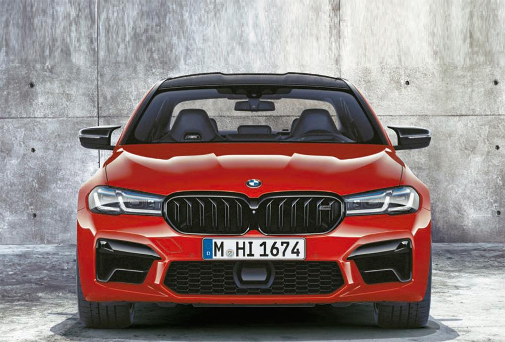 BMW M5 Competition y BMW M5