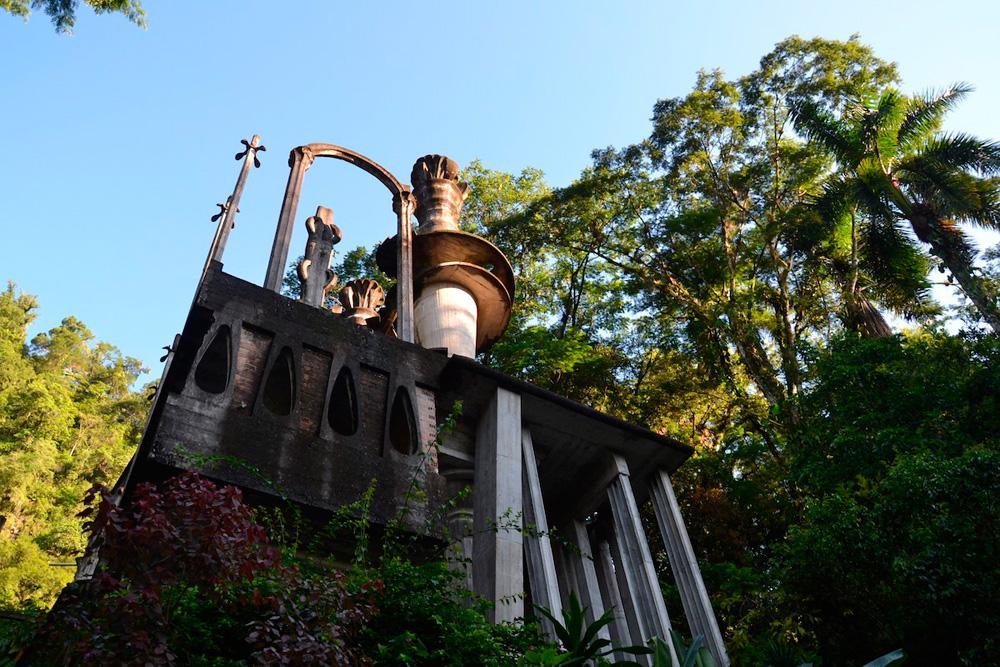 Jardín escultórico de Edward James, primer jardín mexicano en Great Gardens of the World