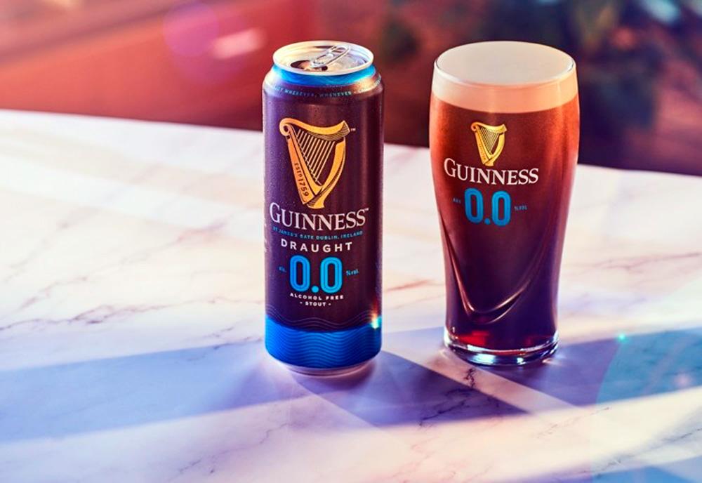 La famosa Guinness Stout ya tiene su versión sin alcohol