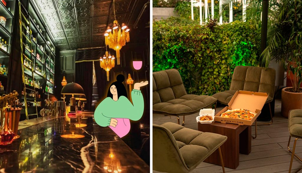 'Room Club', una casa creada para festejar sano y salvo