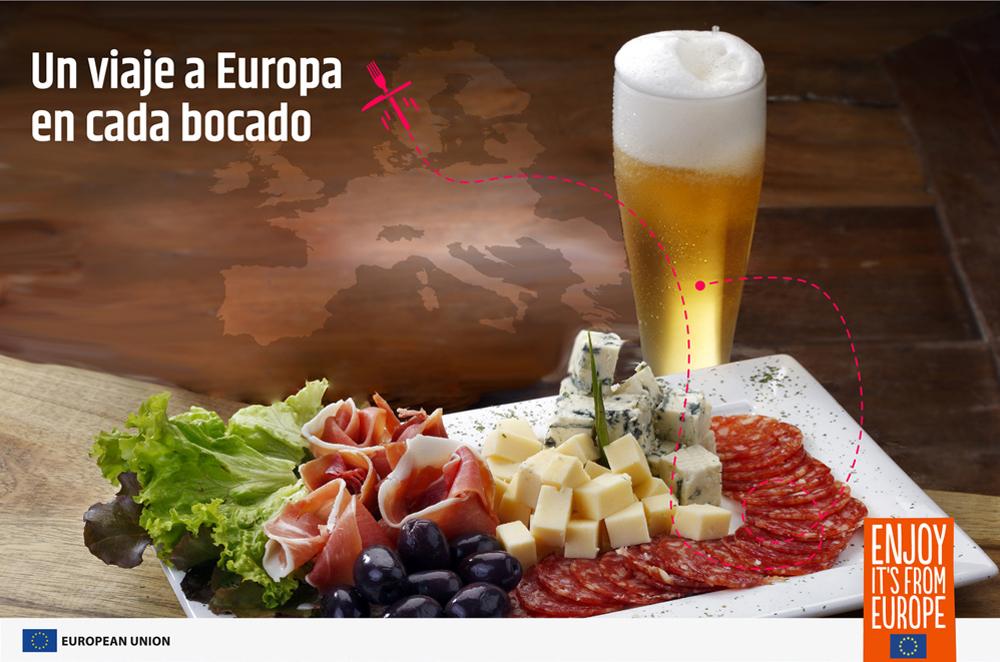 """""""Un viaje a Europa en cada bocado"""" trae recetas, talleres gastronómicos y cenas con lo mejor de la Unión Europea"""