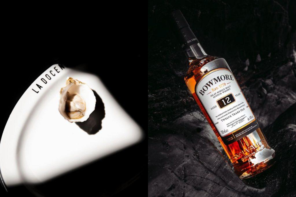 ¿Ostiones + whisky? Bowmore ha creado el ritual perfecto en La Docena 🥃