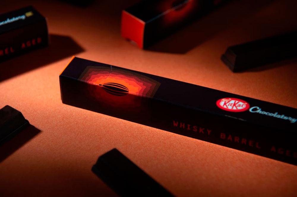 El chocolate perfecto no exist… ¡KitKat añejado en barricas de whisky escocés!