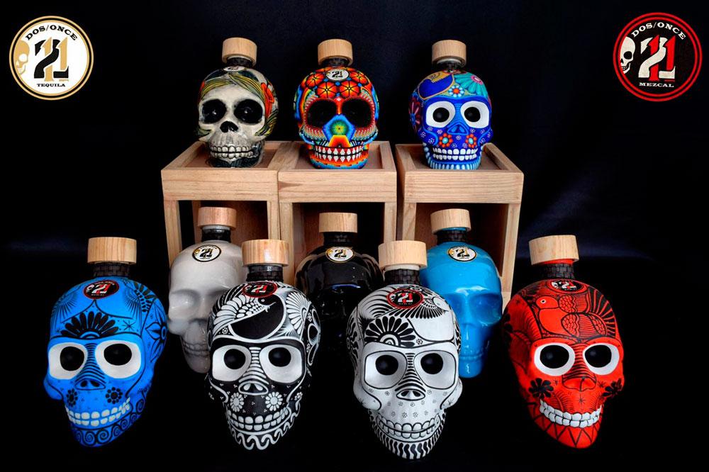 Dos Once, mezcales y tequilas con artesanía dentro y fuera de su botella