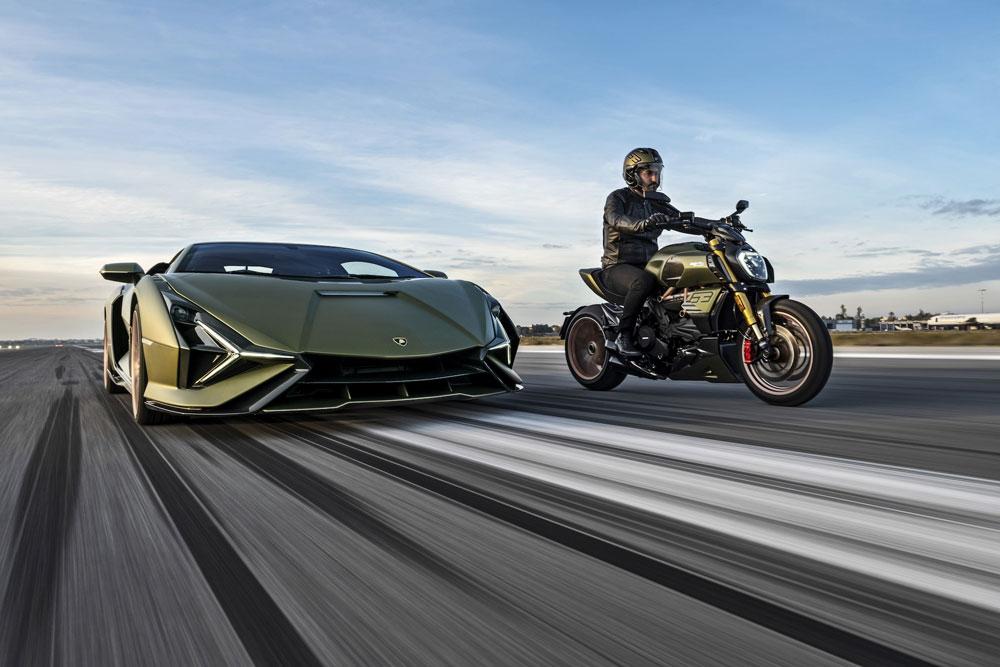 Ducati y Lamborghini lanzan la moto para el 2021