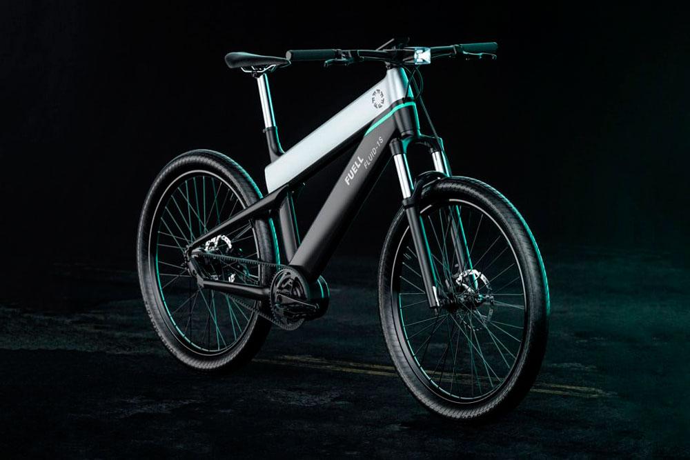 Fuell Fluid: una lujosa bicicleta eléctrica con 200Km de autonomía