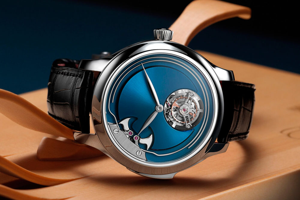 H. Moser & Cie presentan un reloj sin marcadores de hora