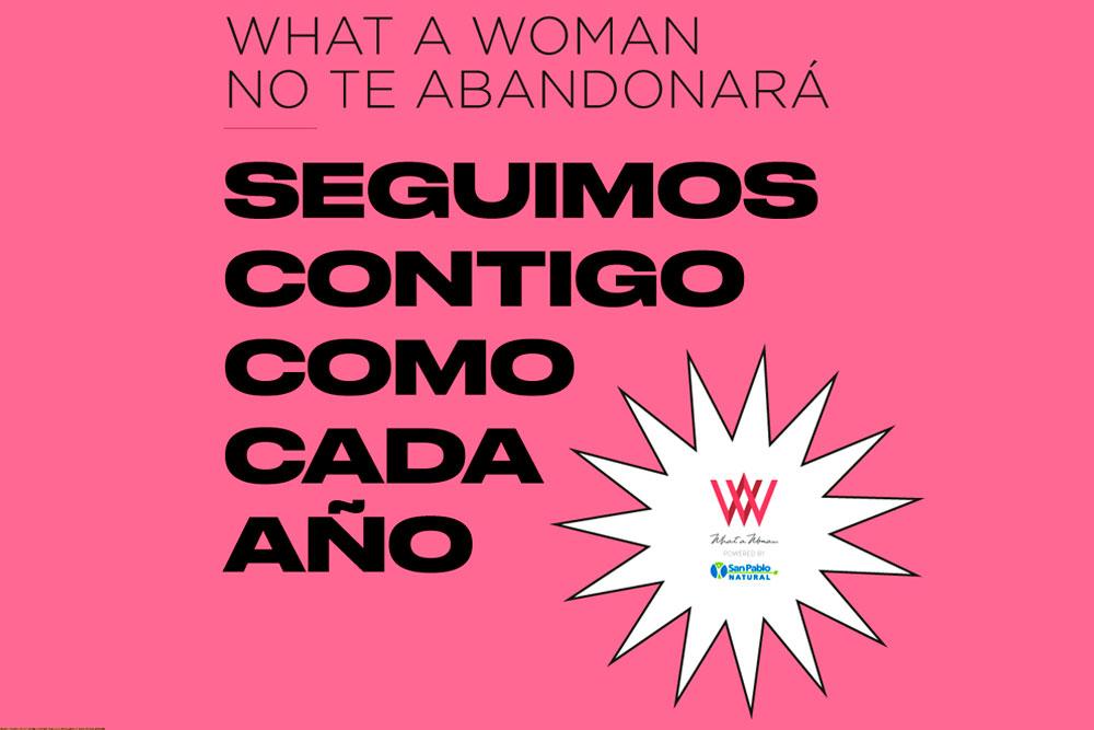 Octava edición de What a Woman será digital