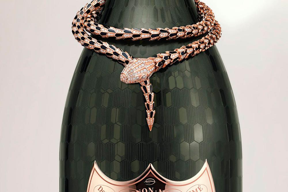 Dom Pérignon y Bvlgari crean la botella más lujosa de Champagne