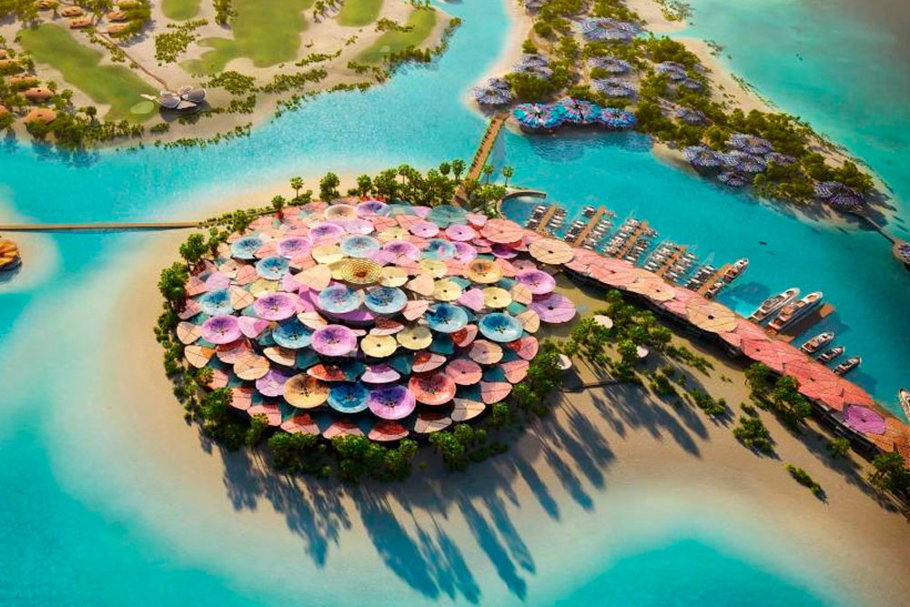 Coral Bloom, un proyecto turístico de lujo en 22 islas vírgenes